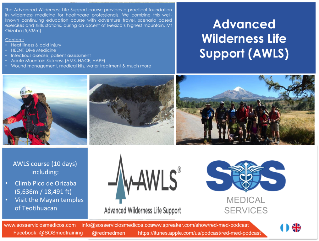 SOS MEDICAL SERVICES | advanced wilderness life support and