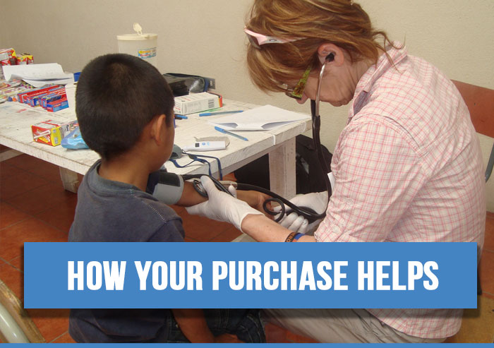 How your purchase helps communities